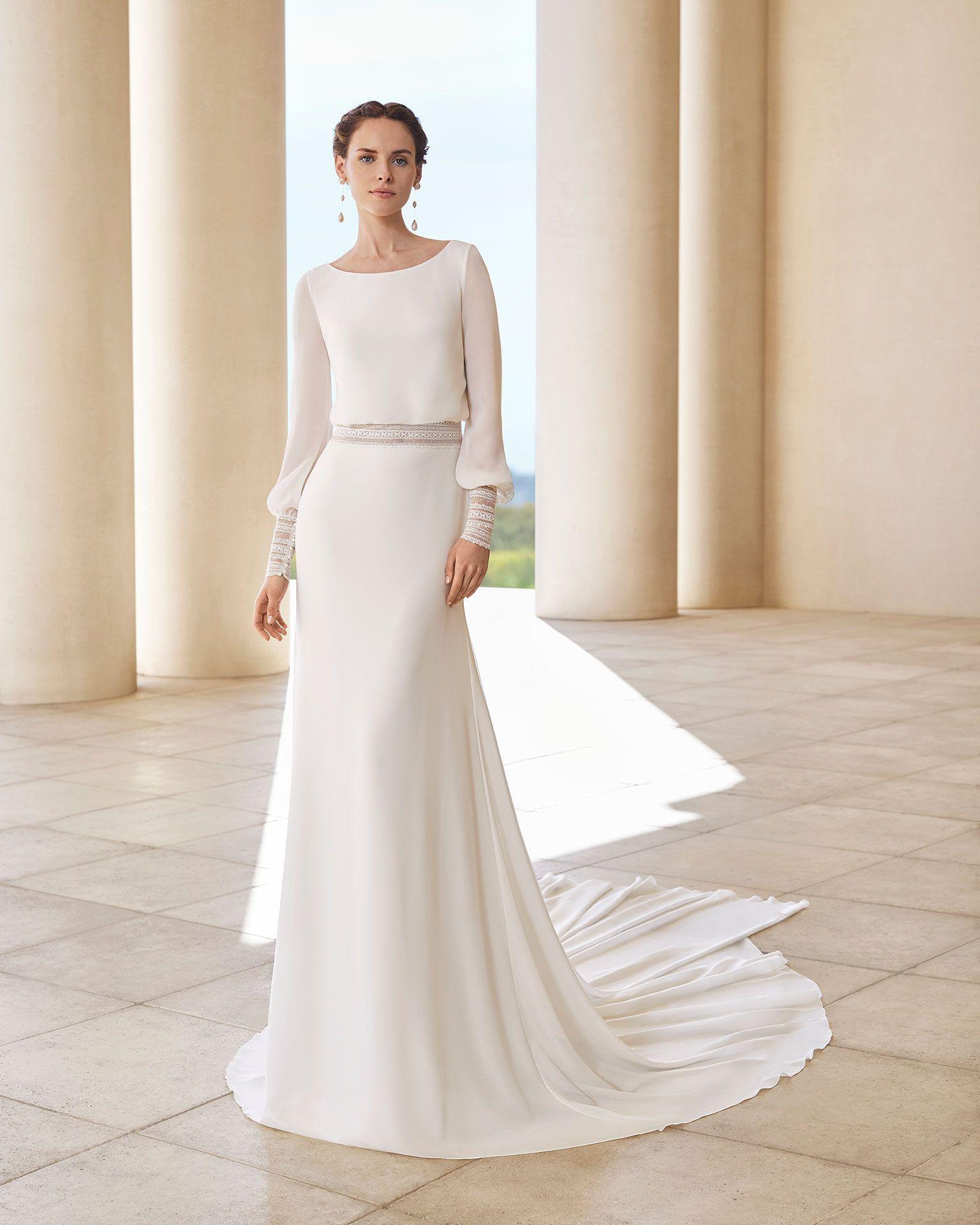 Sahel Bridal 2020 Rosa Clara Couture Collection Muslim Wedding Dresses Wedding Dress Long Sleeve Bridal Dresses
