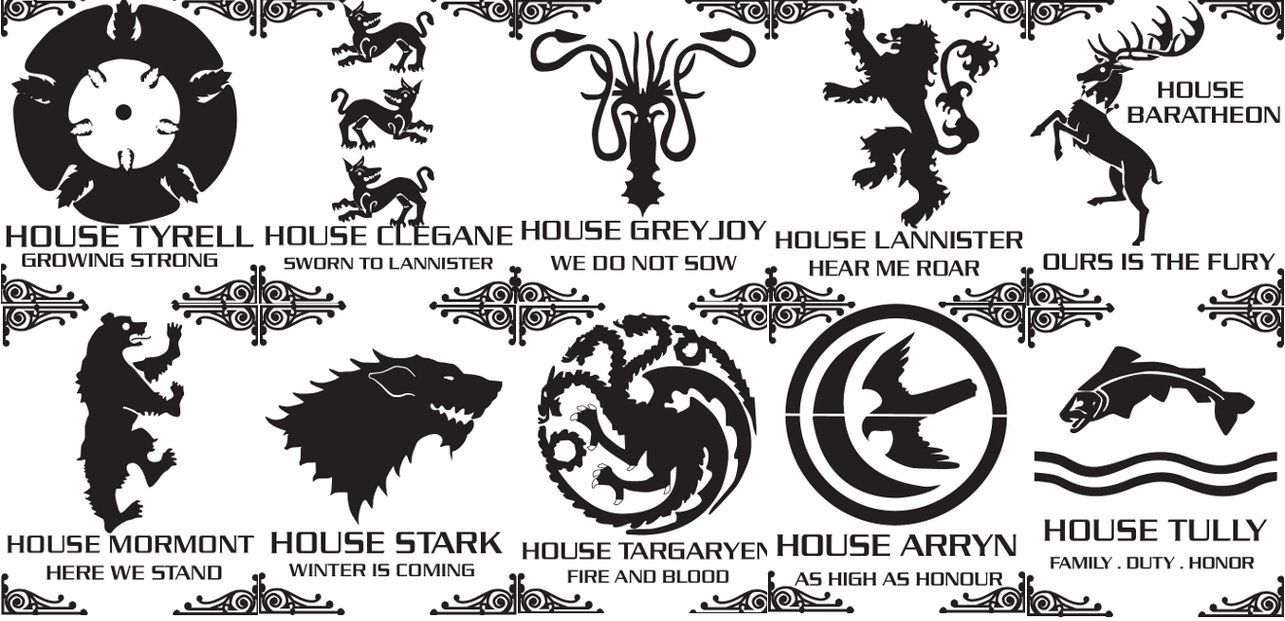graphic relating to Game of Thrones Stencil Printable identified as Video game of thrones stencils via Bozebus upon deviantART Holiday seasons