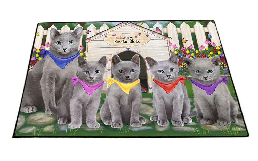 #RussianBluecat #Cats #Spring #Dog #House #Floormat #doormat