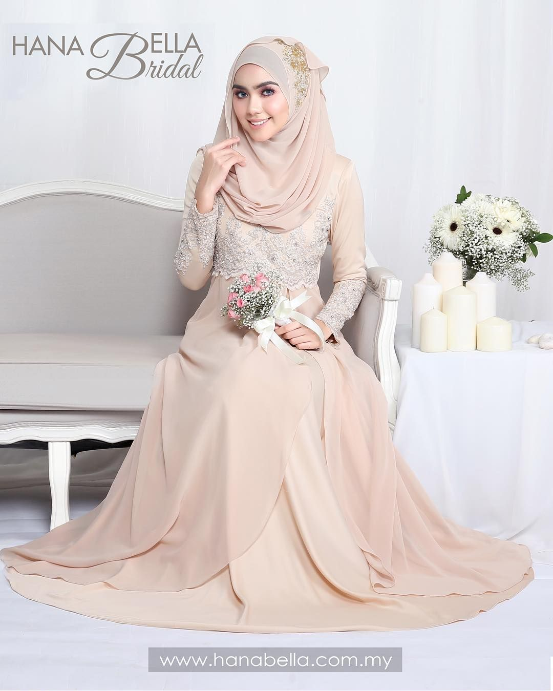 Pin by Ika Nurhayati on Muslim Wedding Dress Ideas | Pinterest ...