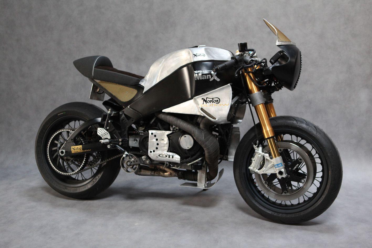 Buell Norton Manx Neoretro Motorcycles Norton Cafe Racer Norton
