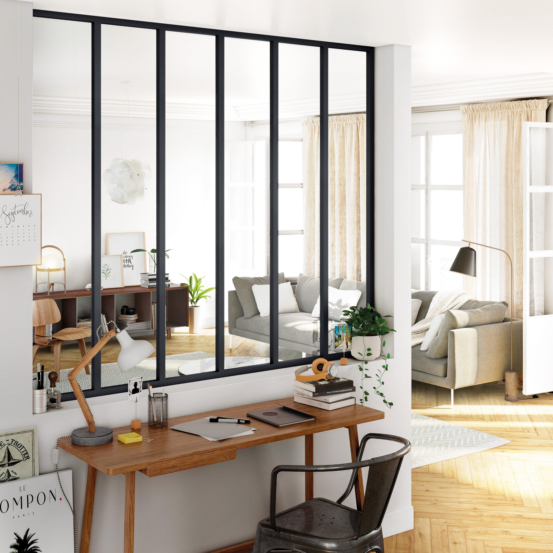 Verriere Atelier Sur Mesure Alu Noir Satin H 30 Cm A 2 90 M L 30