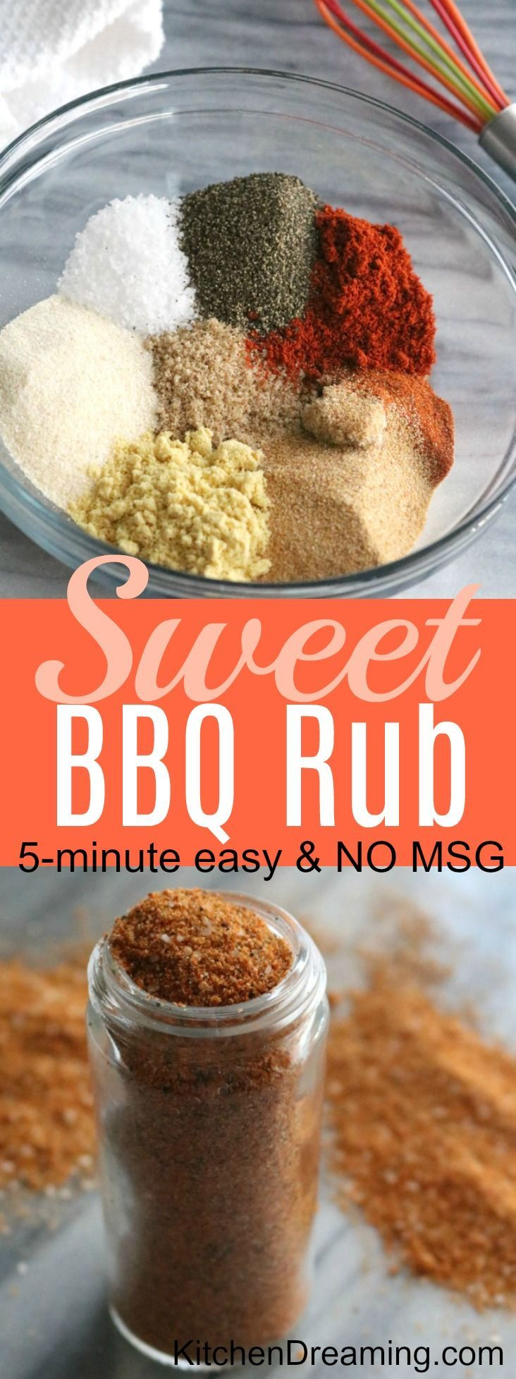 Sweet Bbq Rub Recipe Kitchen Dreaming Recipe Sweet Bbq Rub Recipe Bbq Rub Recipe Rub Recipes