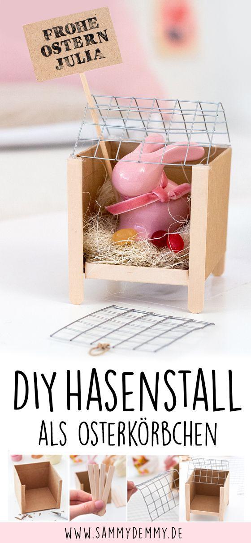 Fröhliche Ostern: Dekoration & DIY Osterkörbchen