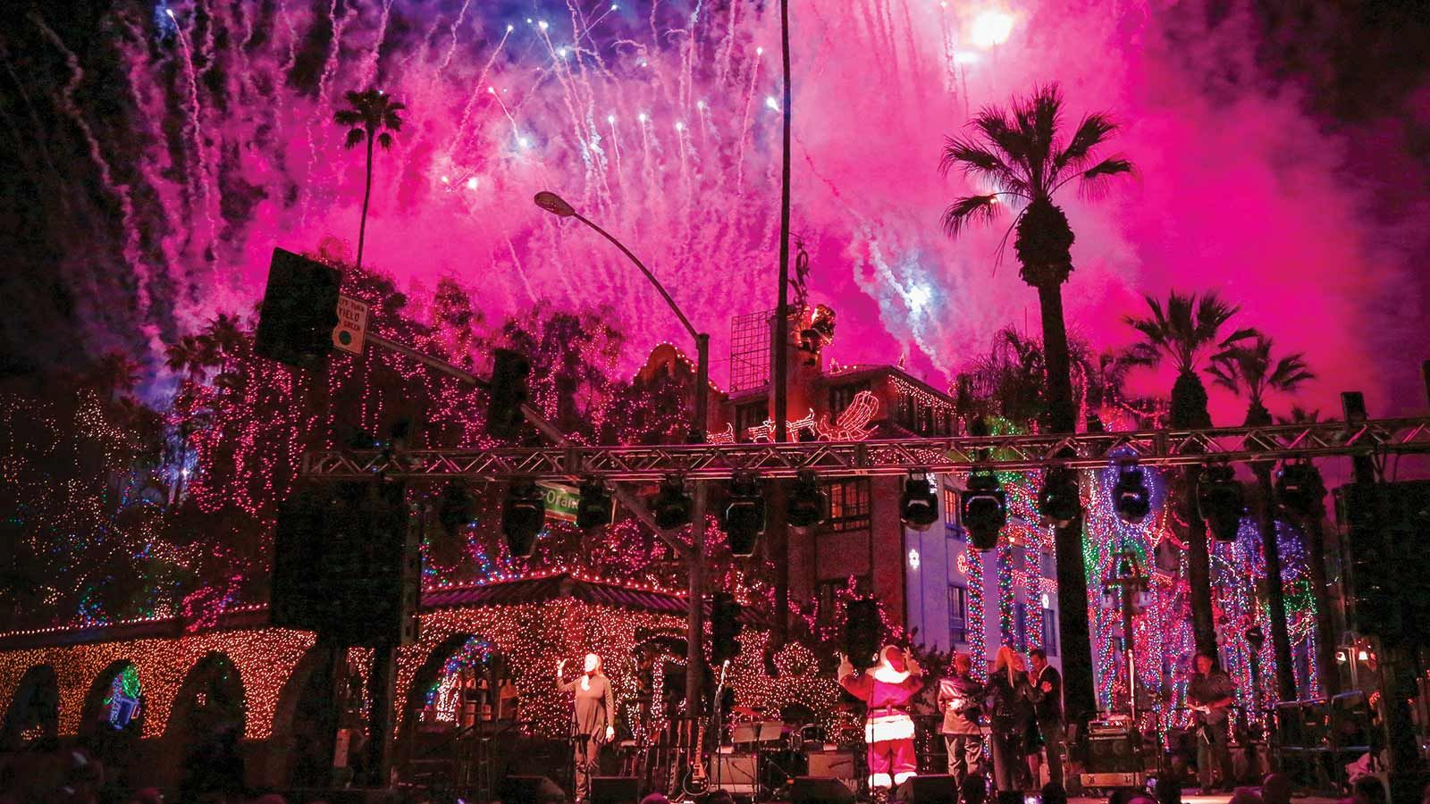 Festival of Lights Riverside CA Mission Inn Hotel and