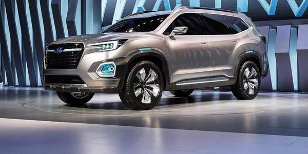 New Subaru 3 Row Crossover 7 Penger Suv