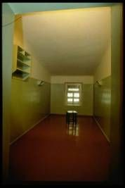 Igor Gavrilov/Time Life Pictures/Getty Images – An interrogation room inside Lubyanka prison, which was housed inside the old KGB headquarters, Moscow, November 1, 1991