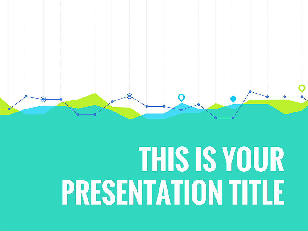 this template is specifically designed for presenting data results, Presentation templates