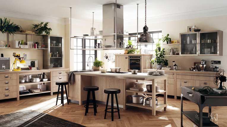Una cucina Scavolini in stile industriale by Diesel | Cucina