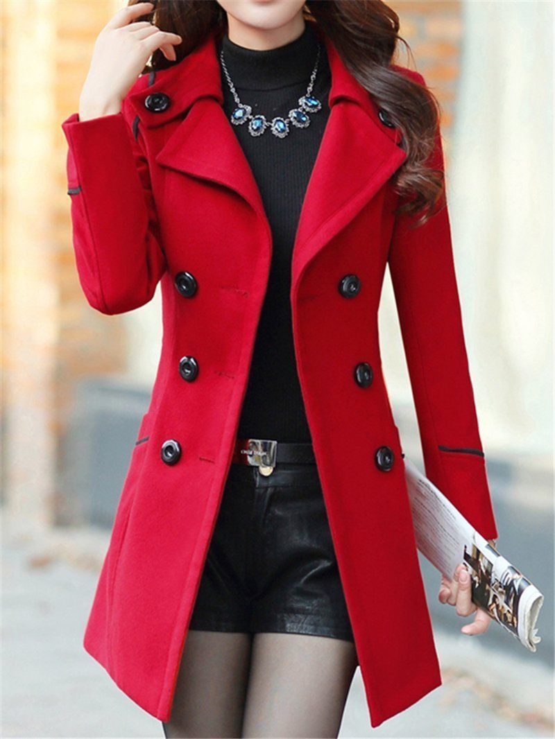 Popular Multi Belt Overcoat Long With Women Sleeve Fashion Colored wYq7zxYp