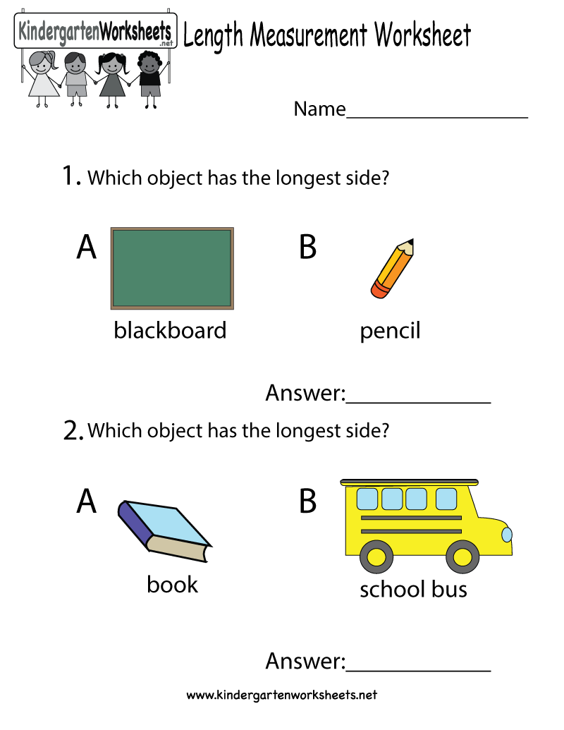 worksheet Free Measurement Worksheets this is a measurement worksheet that helps kids compare the length measuring with an easy ruler measures blocks