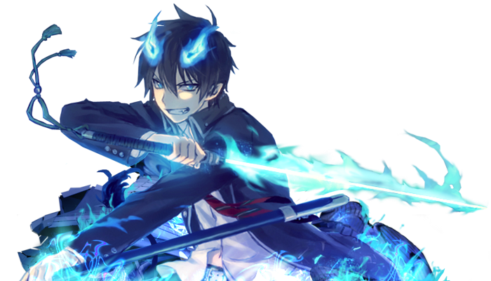 rin okumura demon form - Google Search | Blue Exorcist ...