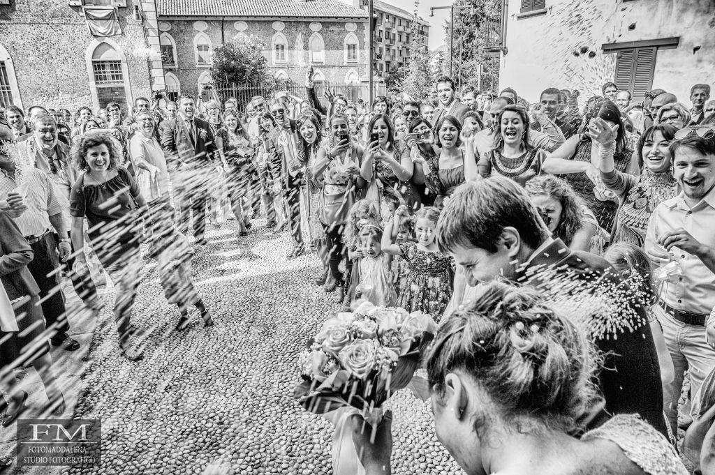 Lancio del riso Fotografo Verbania