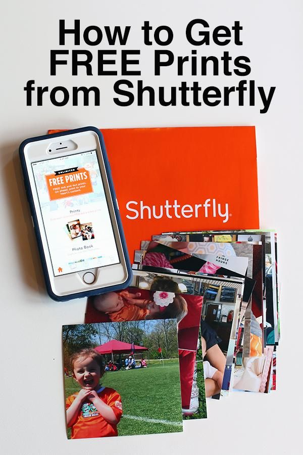 Saving Time & Money with the Shutterfly App App