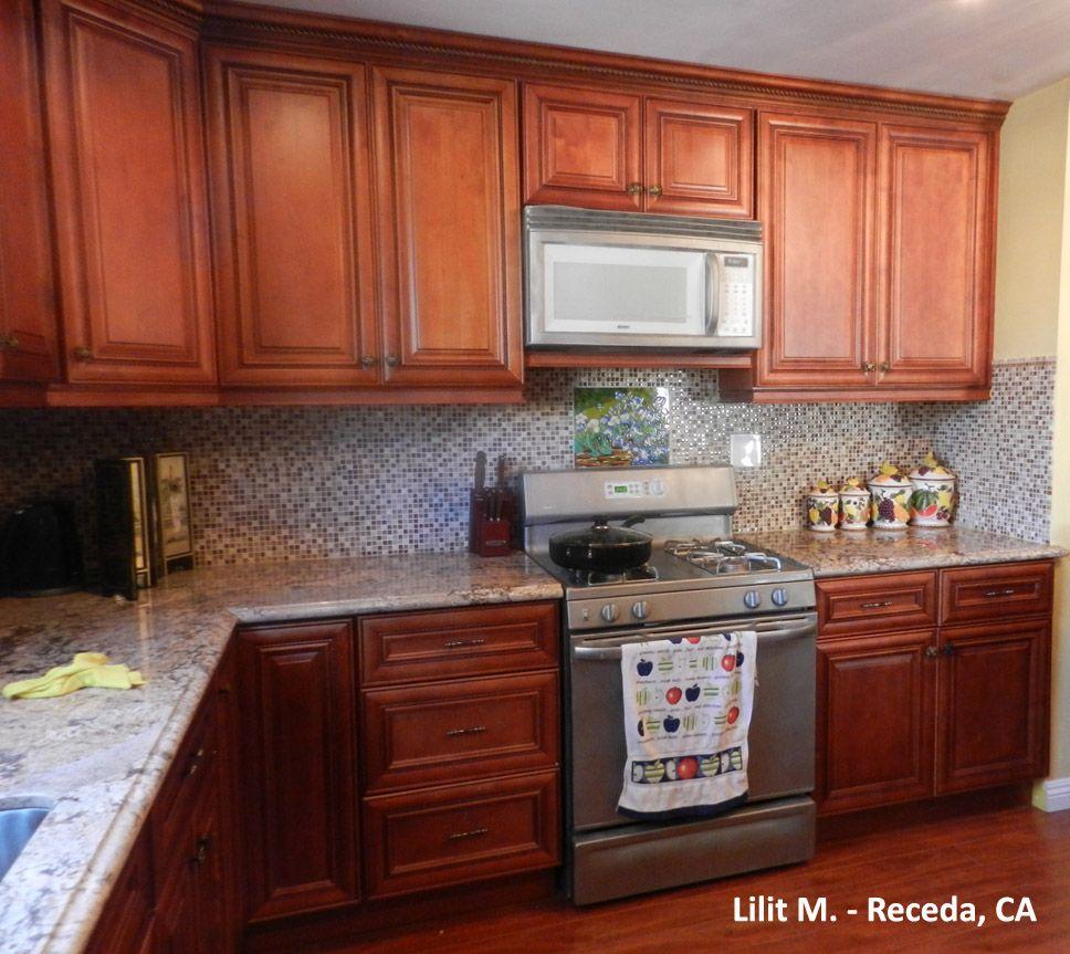 Mocha Rope cabinets. #Mocharope #Cabinets #Home #Kitchen # ...