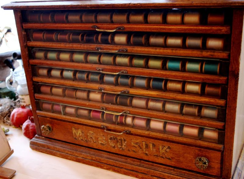 thread cabinet - Google Search | Antique Thread Cabinets ...