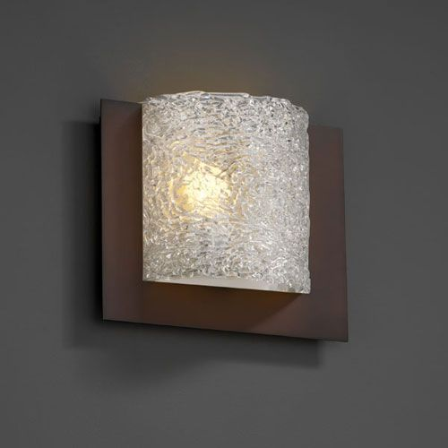 Veneto Luce Framed Square Three Sided Fluorescent Dark Bronze 1000 Lumen Led Wall Sconce Products In 2019 Wall Sconce Lighting Wall Sconces Sconces