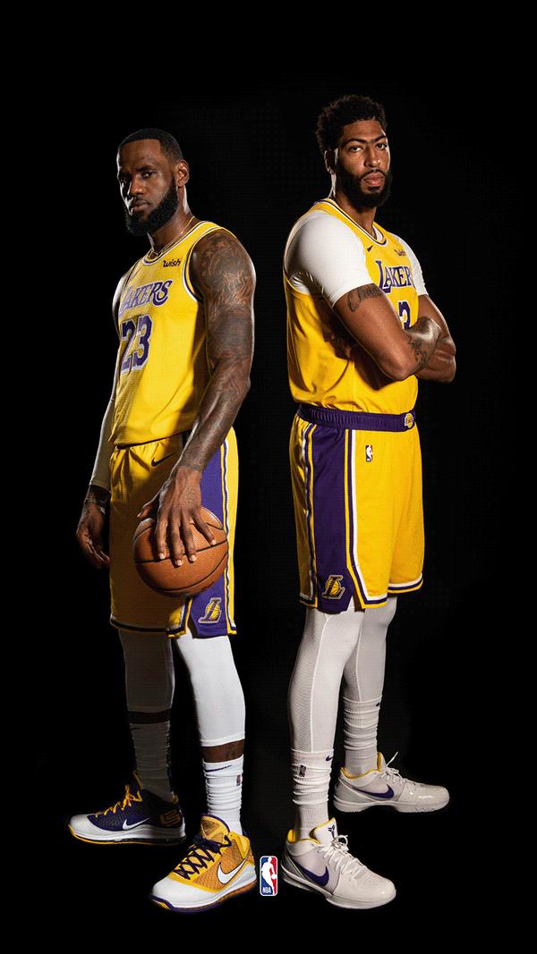 Lebron James Anthony Davis Lakers Nba Lebron James Lebron James Lakers Best Nba Players