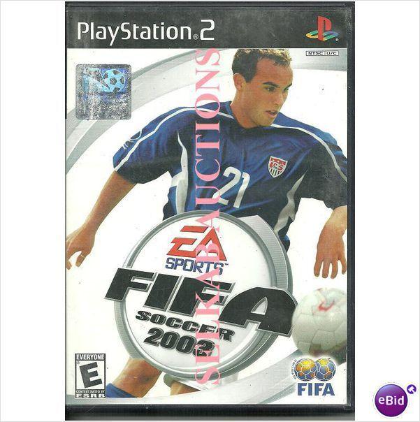 EA Sports FIFA Soccer Football 2003 game Play Station 2 PS2 PS/2 NTSC U/C used 014633145793 on eBid Canada