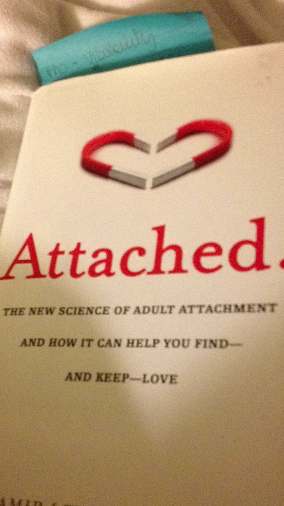 Fascinating Book On How Adult Attachment Styles Can Be