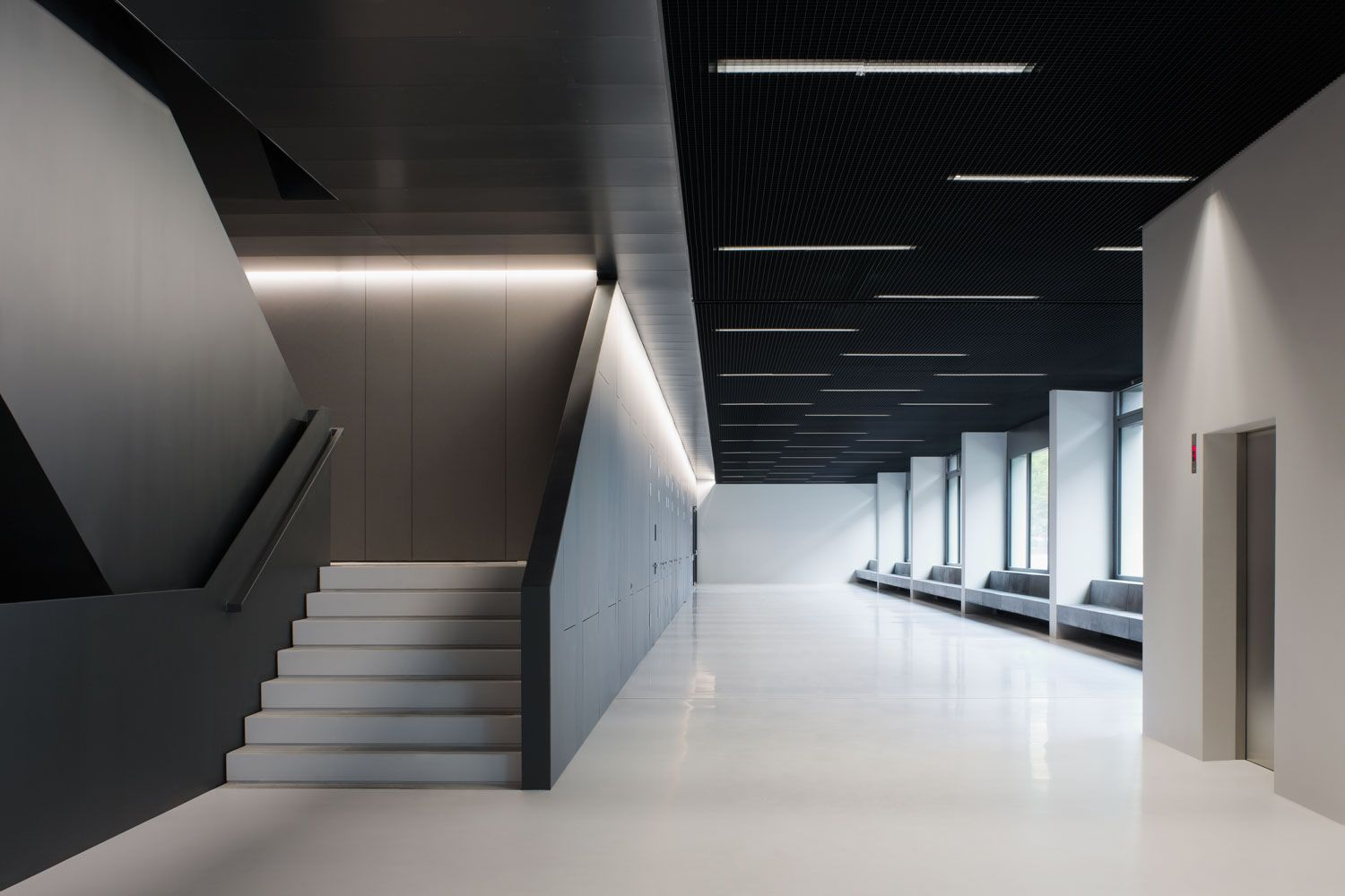 Innenarchitektur Chemnitz fibre cement panels used in interior design chemnitz