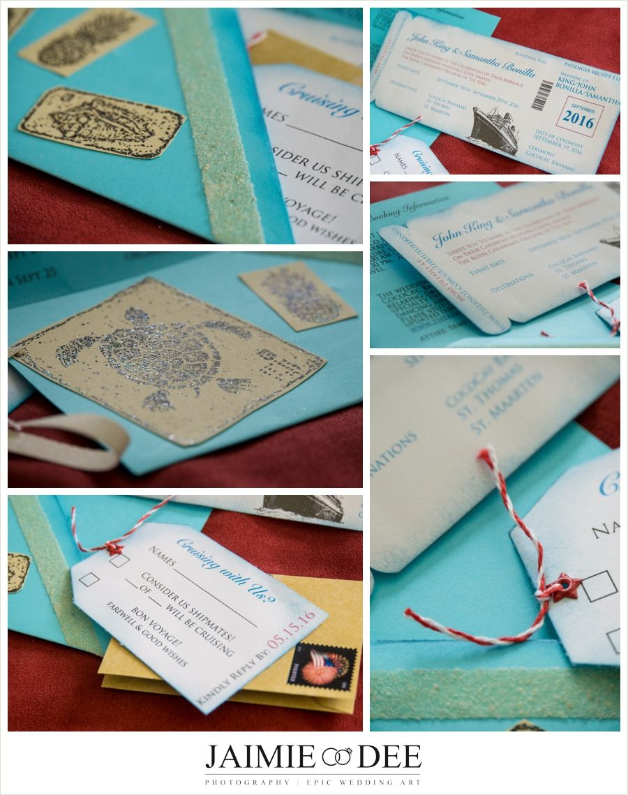 Boarding Pass Invitations for a Cruise Wedding   Homemade Wedding ...