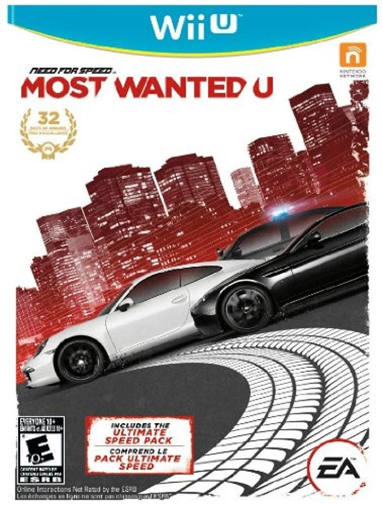 Need For Speed Most Wanted U Wii U Game Need For Speed Xbox 360 Xbox 360 Games