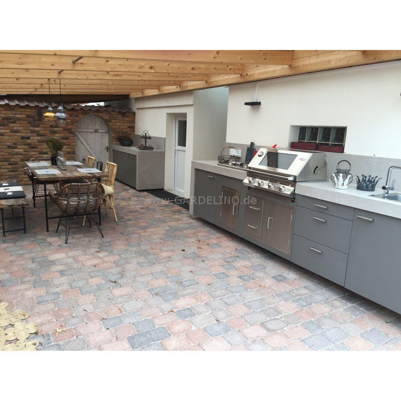 Einbautüren Outdoor Küche
