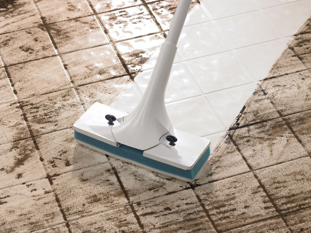 Painting Of Simple Routines To Cleaning Ceramic Tile Floors