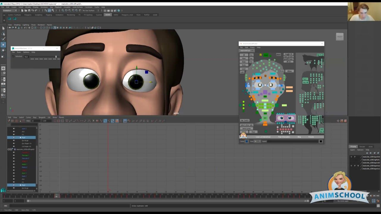 Lecture Animating Pupil Source Animschool Animation