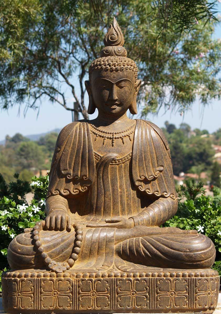 Sold stone detailed buddha statue 49 buddha buddhism and buddhists stone detailed buddha statue biocorpaavc Choice Image
