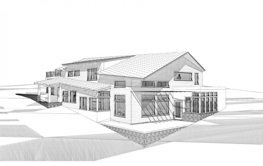 Excellent Modern Home Architecture Sketches On Home Design With House  Remodeled House Design Modern House Sketch