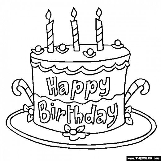 Colouring Pages H Y Birthday : Happy birthday wishes and quotes for your sister
