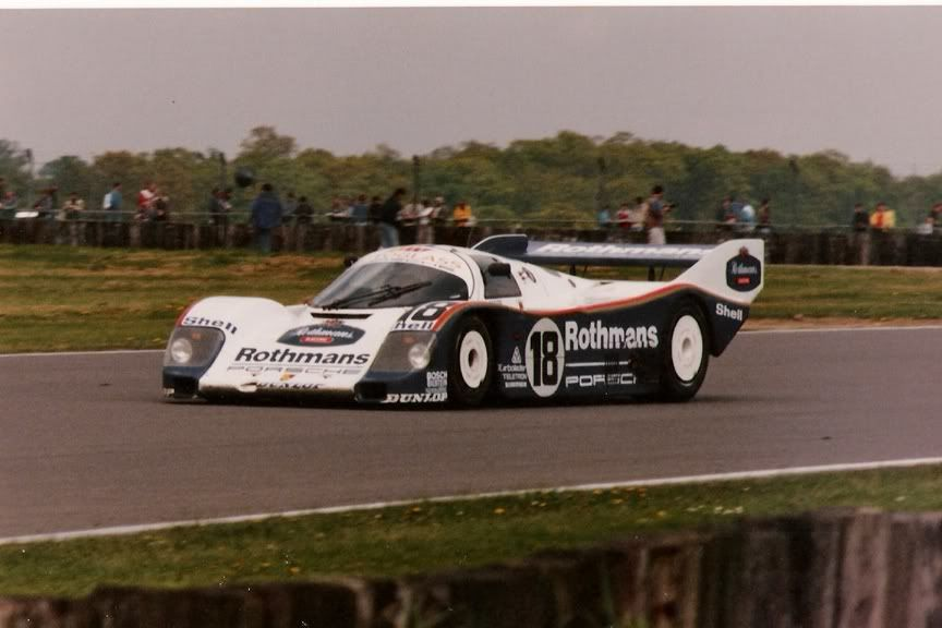 Silverstone 1000 Kilometres 1987 Porsche 962 C #007