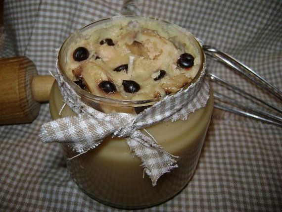 Chocolate Chip Cookie Candle by SweetToothCandle on Etsy, $11.99