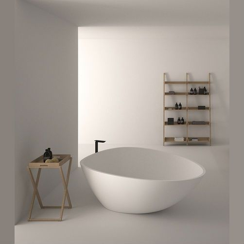 Agape DROP bath in cristalplant
