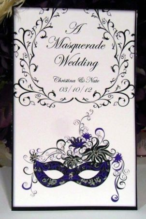 Masquerade Wedding Invitations