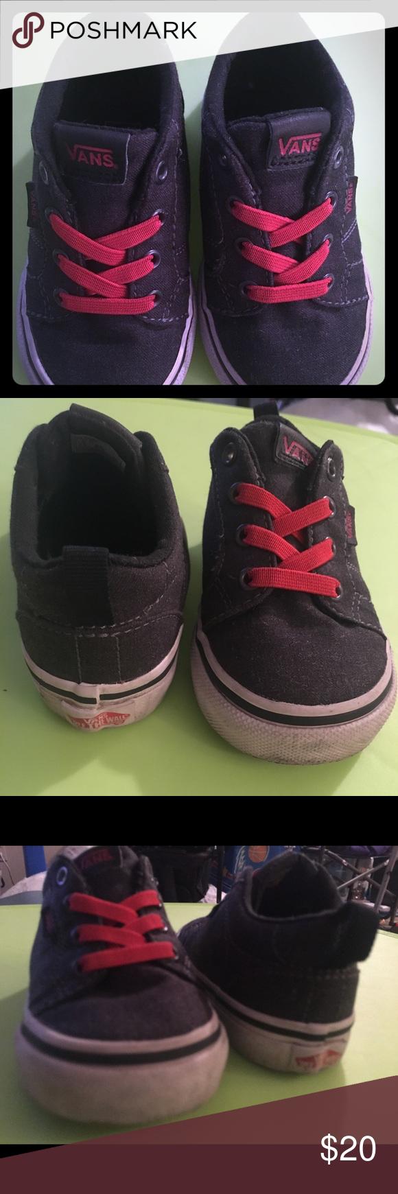 0793da6e70bbf0 Toddler VANS Size 6 Slip On