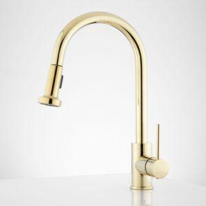 Kohler Polished Brass Kitchen Faucet Http Saudiawebdesigncompany