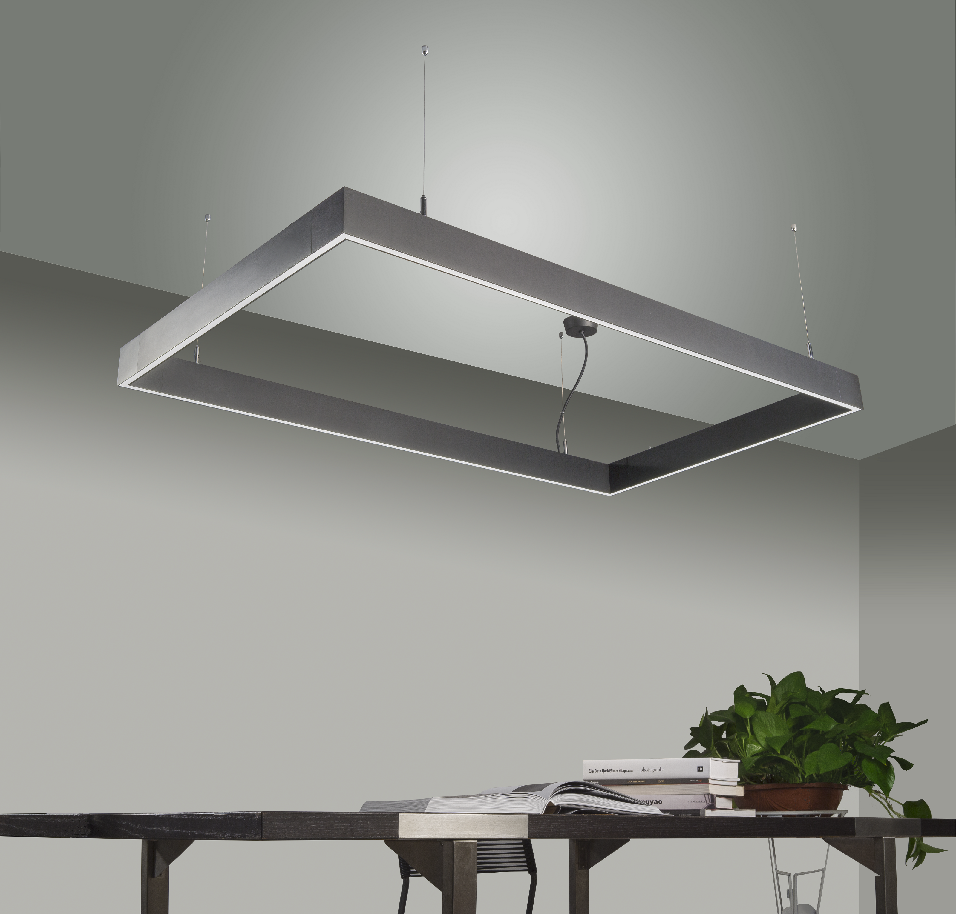 Led Square Lamp Led Hanglamp Keuken Verlichting