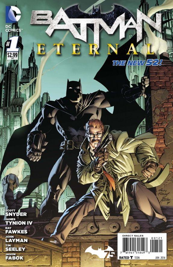 Batman Gordon Team In Batman Eternal 1 9 Page Preview 5 New