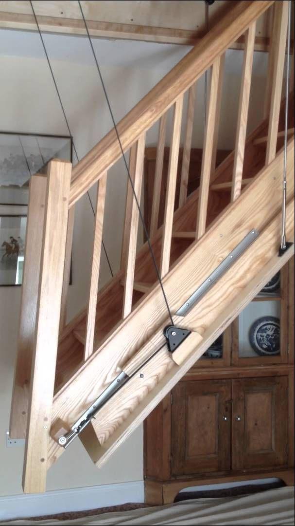 Best Midhurst Electric Stairway In Operation Attic 400 x 300