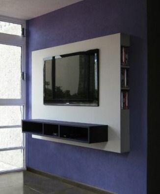 Mueble panel lcd tv led modular mesa de tv - Mueble para cd ...