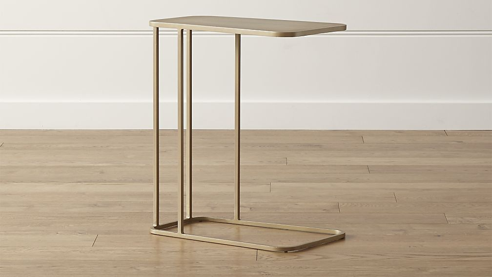 Siena C Table Reviews Crate And Barrel C Table Small Living Room Furniture Brass Console Table
