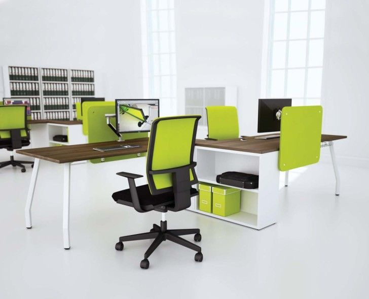 How To Arrange Cool Office Furniture Enchanting Built In Office