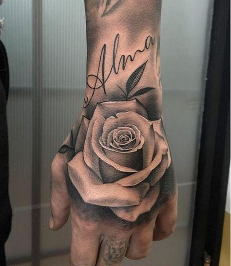 Selecao Das Melhores Fotos De Tatuagens Na Mao Tanto Para Homens Como Mulheres Desenhos De Flor De Lotus Hand Tattoos For Guys Hand Tattoos Tattoos For Guys