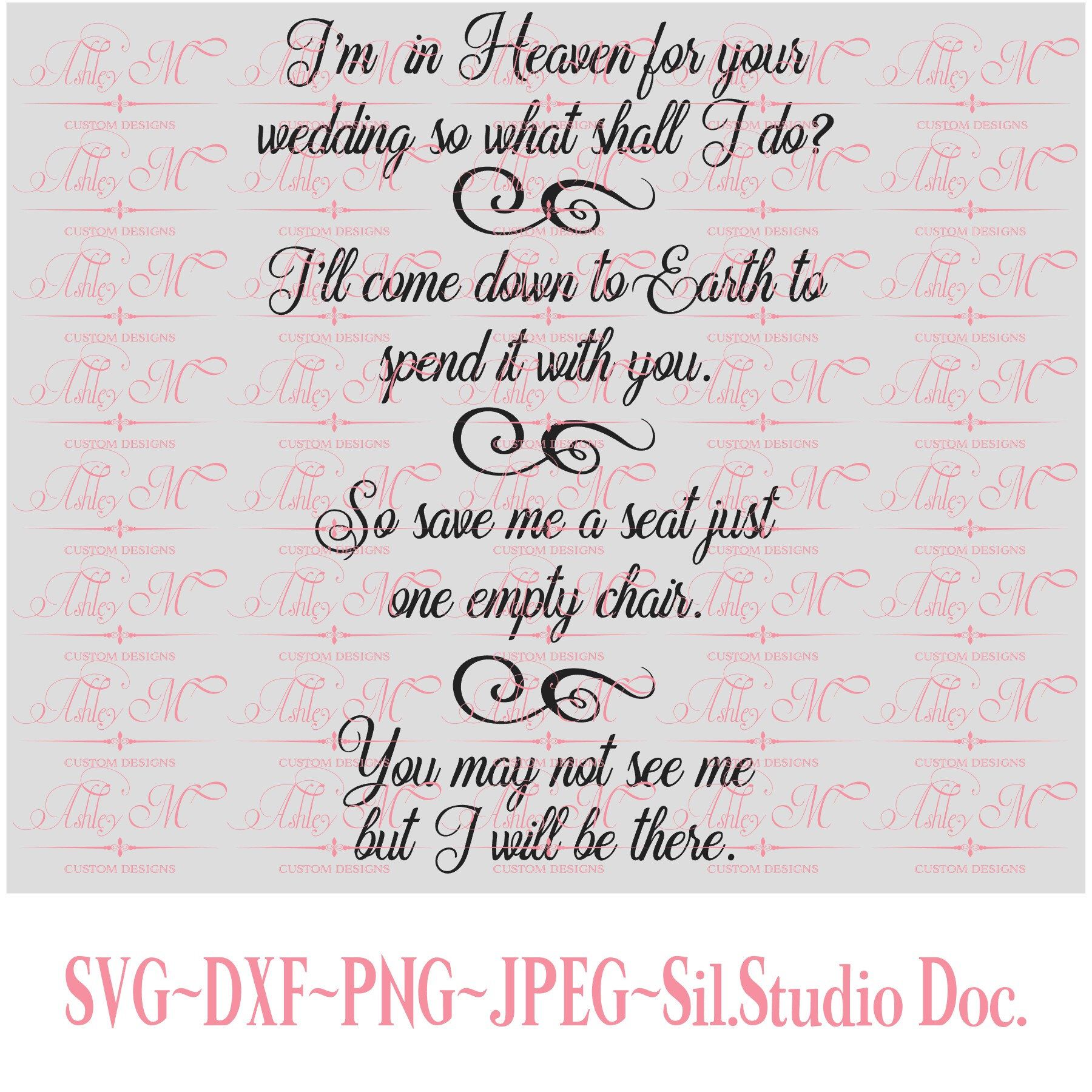Download Wedding In Heaven Lost Love One - Christian svg ...