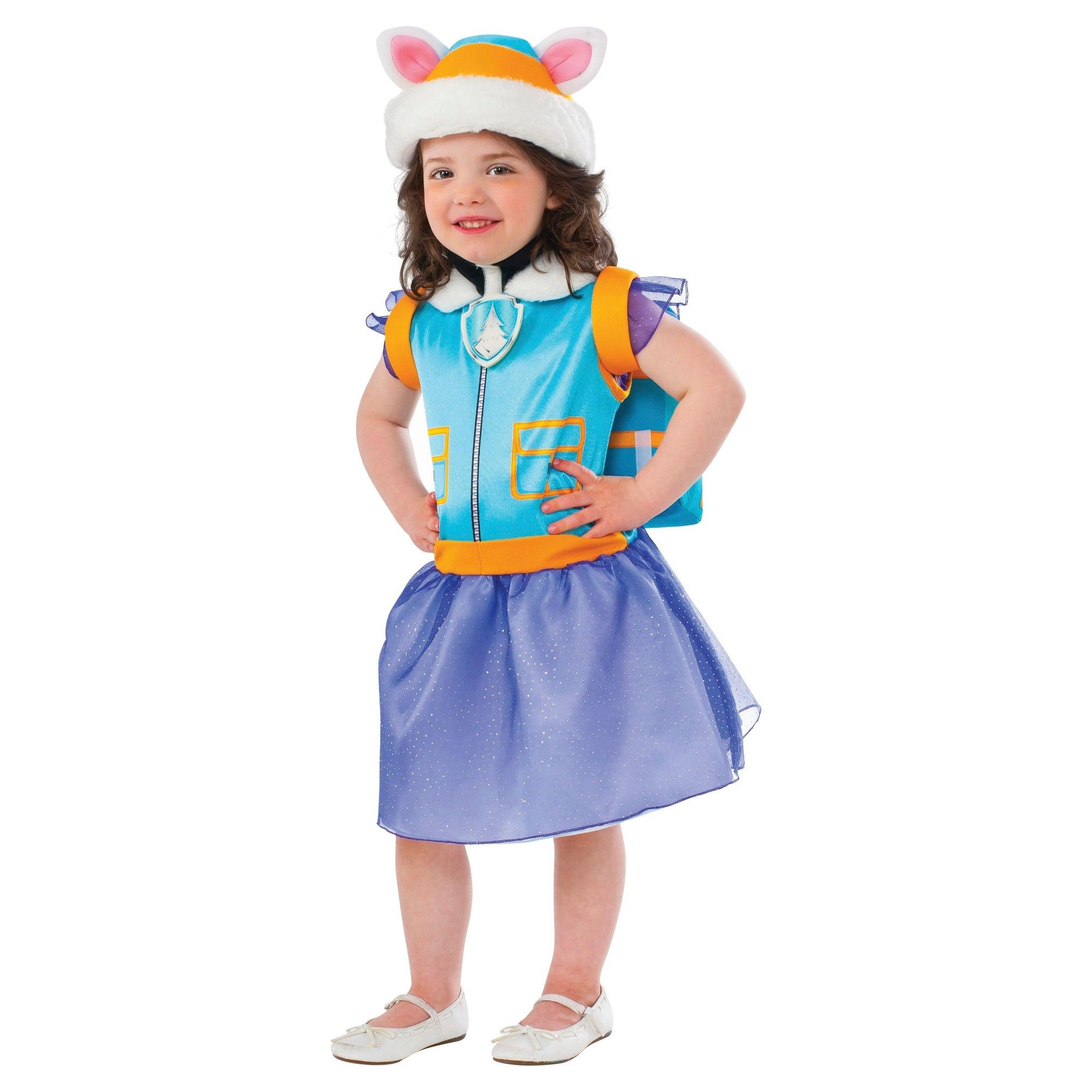 Halloween Paw Patrol Everest Toddler Girls\' Costume - (2-3T), Size ...