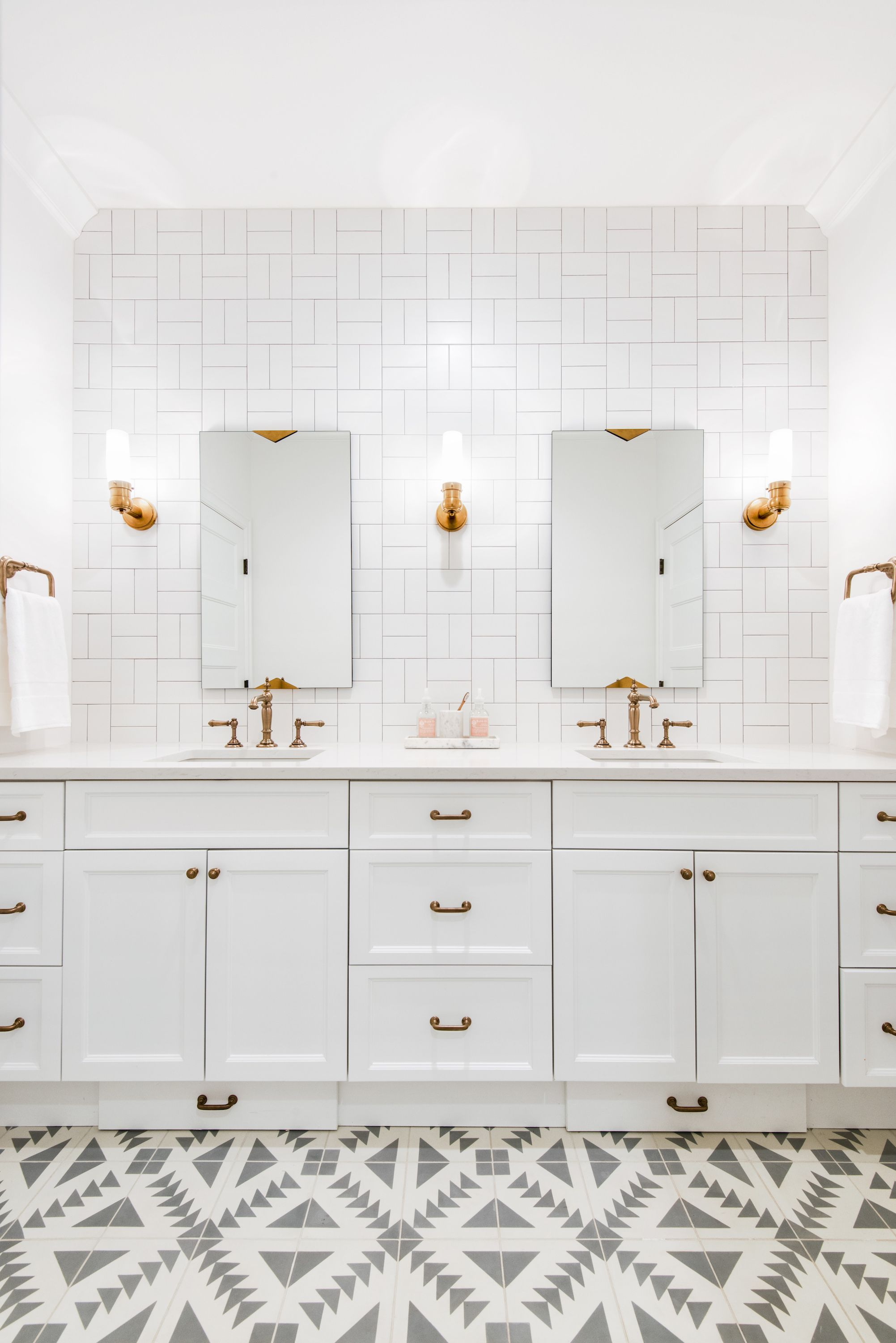 For Me And Keith S Bathroom Except Black Tile Caitlin Wilson