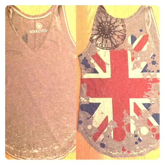 Soul-Cycle tank Worn once! Great condition. Tops Tank Tops